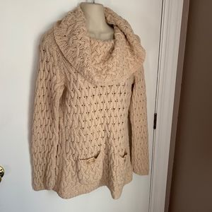 Anthropologie Sparrow large cowl sweater